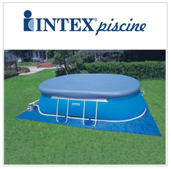 Intex telo di copertura per piscina intex elisse 549 x 305 - Copertura invernale piscina intex ...