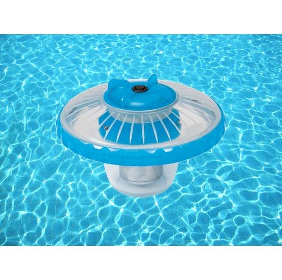 Luce led galleggiante per piscina intex fuori terra for Luci per piscina fuori terra