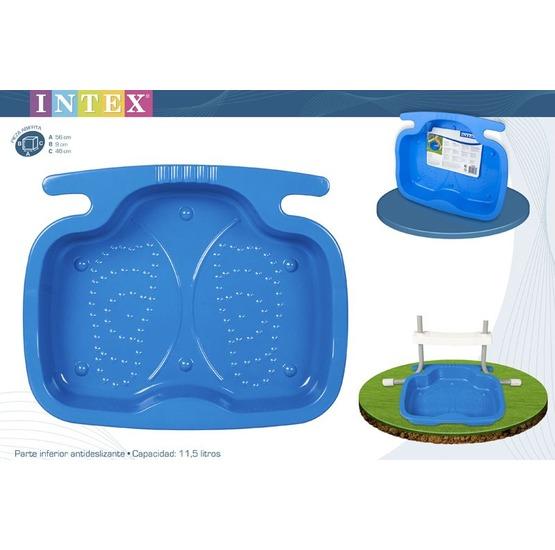 Vaschetta lavapiedi intex per piscina for Coperture per piscine fuori terra intex