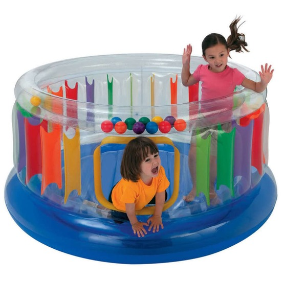 Jump o lene anello di rimbalzo trasparente intex adatto ai bambini piccoli o fino a 9 anni di et - Piscine gonfiabili per bambini toys ...