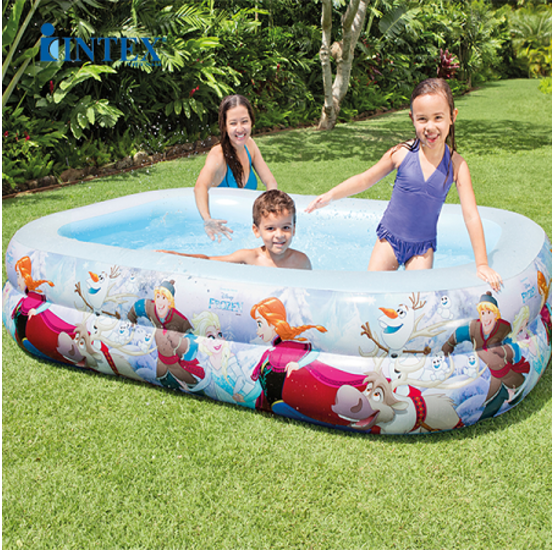 Piscina gonfiabile per bambini frozen swim center pool - Intex piscina gonfiabile ...