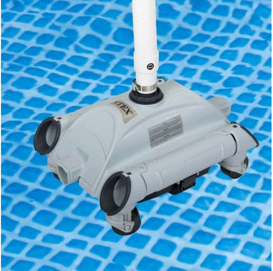 28001 intex pulitore automatico per piscine fuoriterra for Robot piscine intex 28001