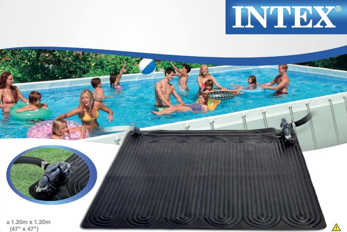 Pannello Solare Per Piscina Intex : Pannello solare intex eco friendly solar mat