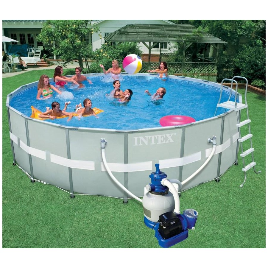 Intex piscine for Avantage service piscine